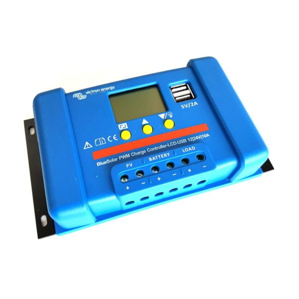 Victron PWM LCD charge controller